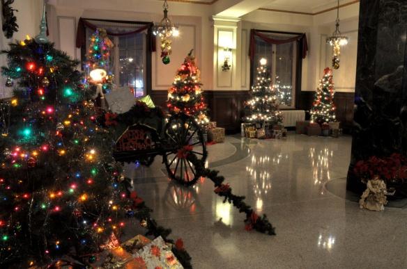 Fairfield Manor Lobby, December 2013